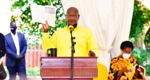 President Museveni launching his manifesto