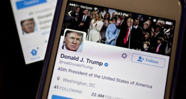 Twitter Permanently Bans US President Donald J Trump's Account
