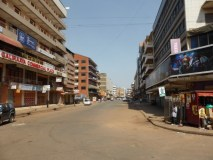 Thousands Flee Kampala As The Country Goes into Polls