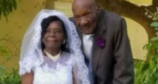 91 Year Old Woman Weds 73 Year Old Boyfriend After Dating For 10 Years