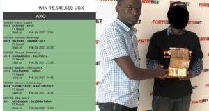 Fortebet Customer Wins Shs15.5 Million With 3K Stake