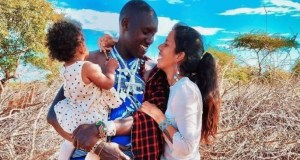 """Maasai Man Who Married Italian Woman Says His wife Is Not A Good Cook: """"I Cook For Her"""""""