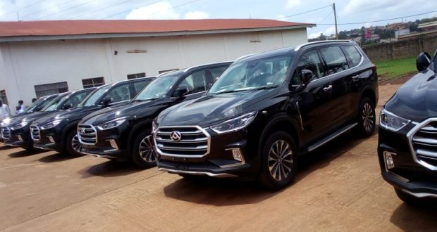 China Donates 70 SUVs To The Ugandan Government