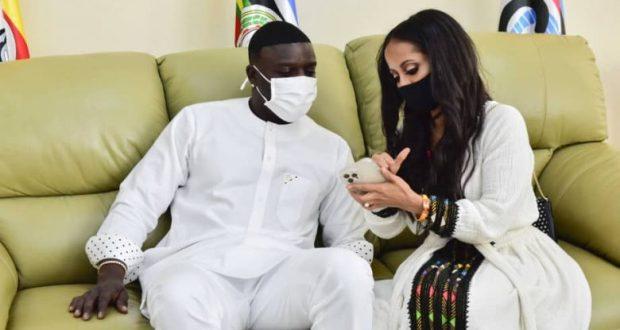 Museveni Assures Akon's Entourage About Investments In Uganda