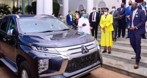 Onyango Rewarded A Car As A A Token Of Appreciation