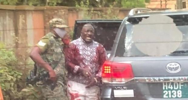 Gen Katumba Wamala Expresses Gratitude Towards His Guard And Boda Boda Rider