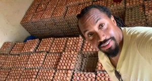Singer Navio Resorts To Farming To Sustain His Family During Covid Times