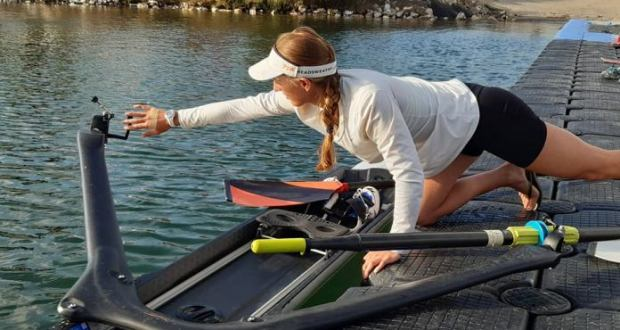 Ugandan Rower Grace Kathleen Nobel Finishes 5th In Olympics