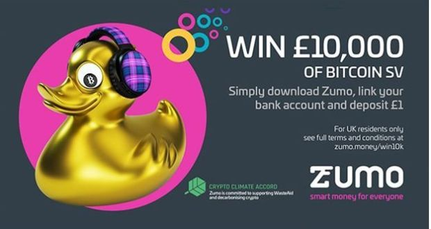 Zumo Celebrates Arrival Of BSV By Giving Away £10,000 Worth Of BSV