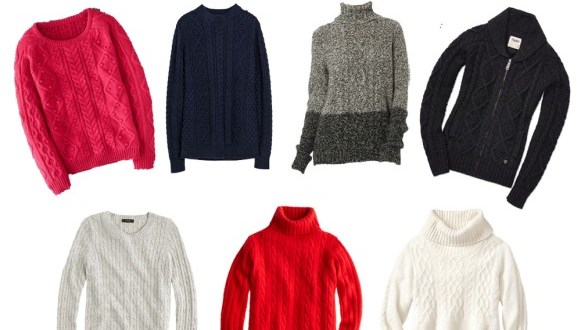 Popular Types, Materials And Styles Of Sweaters