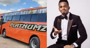 Diamond Platnumz Invests In Intercity Bus Services In Tanzania, Brands Them Platnumz