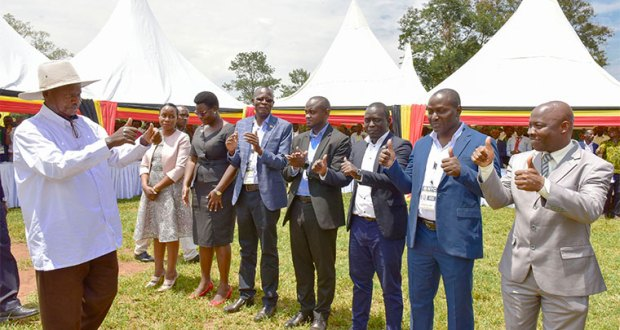 Museveni To Youth Leaders