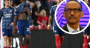 Kagame Reacts To Arsenal's Loss; A Team Must Be Built To Win