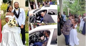 Woman Gifts Her Husband A Brand New Car On Their Wedding Day