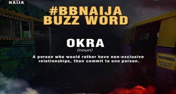 BBNaija; Boma Creates A New Buzz Word