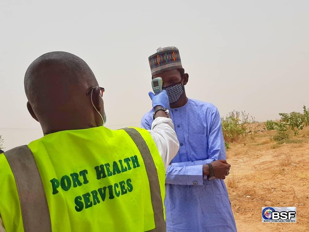 Covid-19: Borno screens road travelers