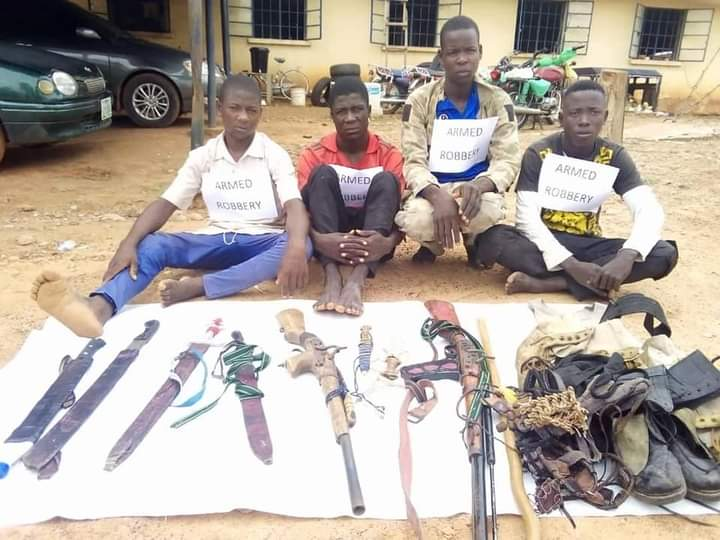 Adamawa Police Nab Robbery, Kidnap Suspects, Recovers Guns, Others