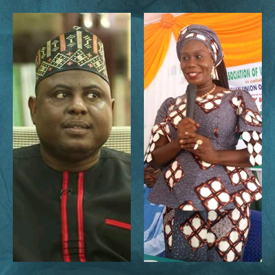 Namdas Congratulates Ladi On Her Election As NAWOJ President