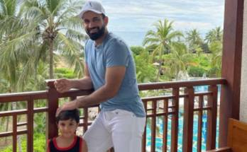 'Nice try, Daddy': Irfan Pathan practices with 3-year old son for Lanka Premier League