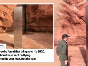 Utah, Metal monolith Utah, Utah metal monolith viral, twitter reactions,