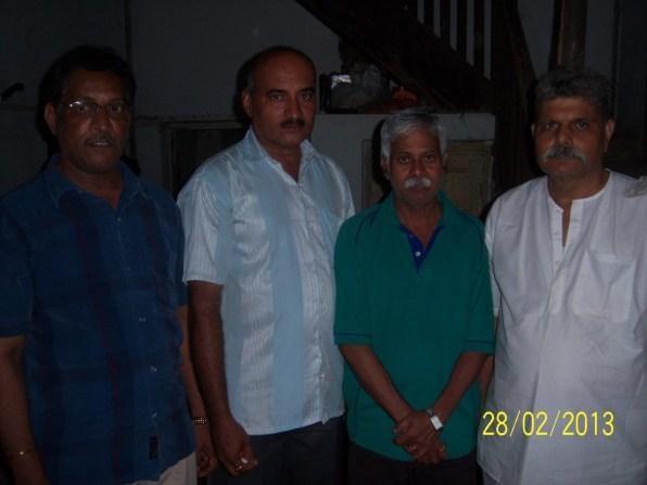 Relatives of Kamat family