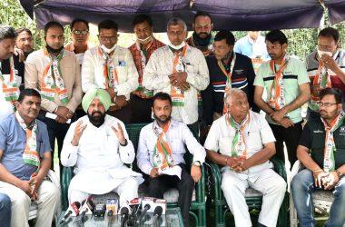 senior Congress leader and Ex-MLA Kewal Singh Dhillon