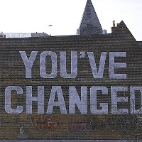 You've Changed sign