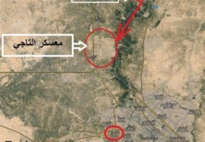 عراق|حمله موشکی به پایگاه التاجی/ پرواز گسترده هواپیماهای آمریکا بر فراز بغداد