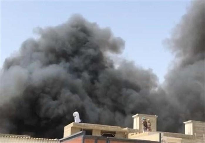 سقوط هواپیمای مسافربری پاکستانی در نزدیکی شهر کراچی 100 کشته برجای گذاشت+تصاویر