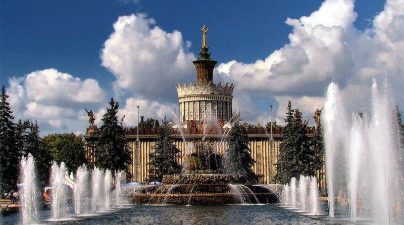 Дата открытия сезона фонтанов в Москве в 2019 году
