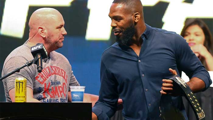 Dana White named a possible date for Jon Jones' first heavyweight fight