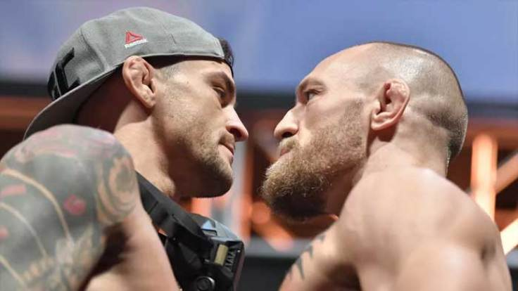 MMA fighters named the favorite to win the fight Conor McGregor - Dustin Poirier