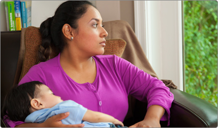 Emotional changes after having a baby