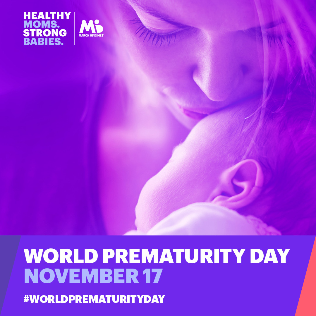 World Prematurity Day is November 17