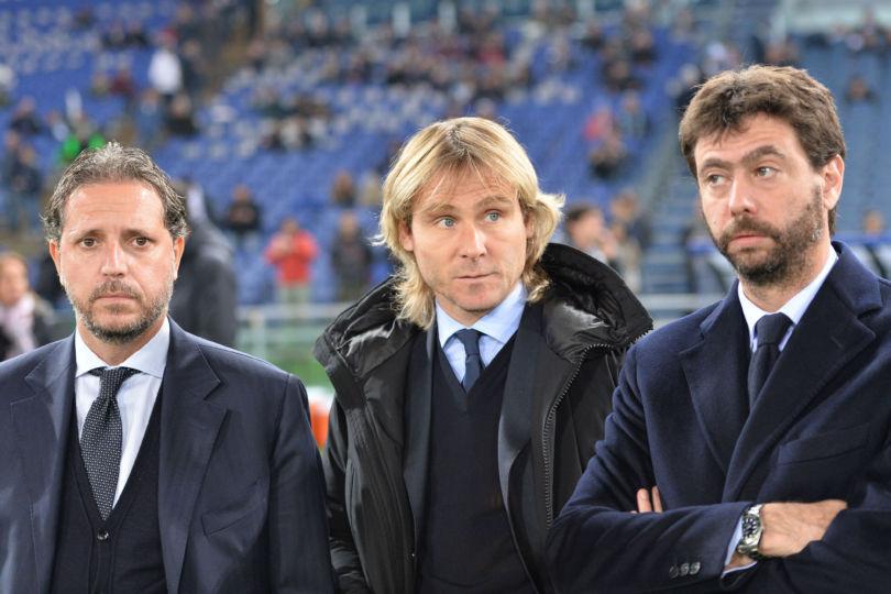 Juventus Pavel Nedved Schick Andrea Agnelli