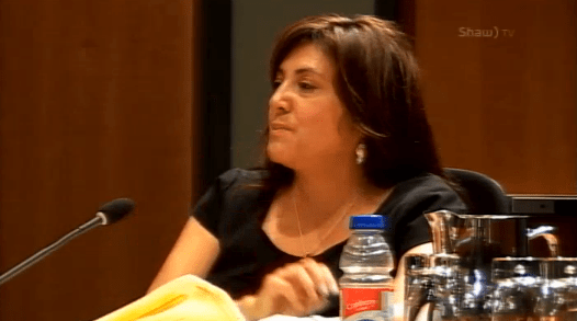 Tracy Samra at Aug. 8 2016 council meeting