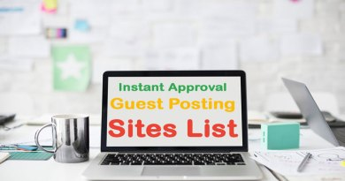 Free Guest Posting Sites-List For 2020