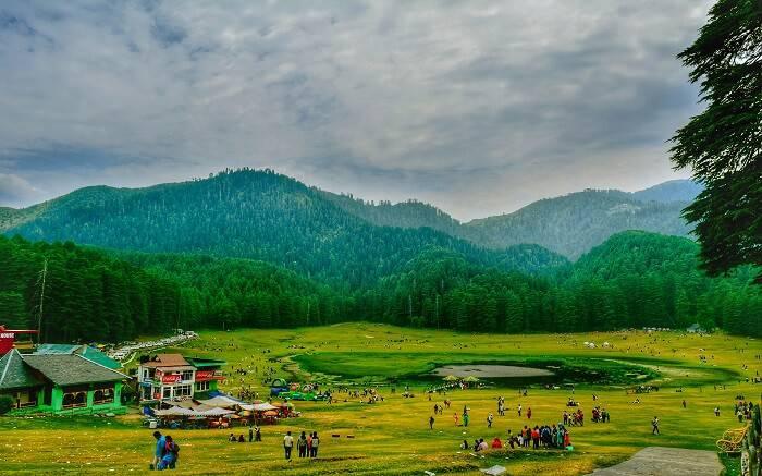 Khajjiar Himacahl Pradesh - Places to Visit in Himachal Pradesh
