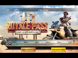 PUBG Mobile Royal Pass Season 10