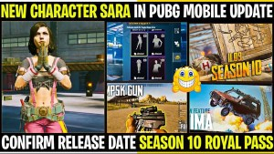 Sara PUBG Mobile Royal Pass Season 10