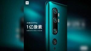 Xiaomi Mi CC9 Pro 108MP Camera