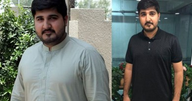 How did this young man lose 19kg weight