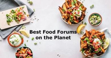 List of Food Niche PBN Sites
