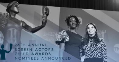 List of US 26th Screen Actors Guild Awards nominations released