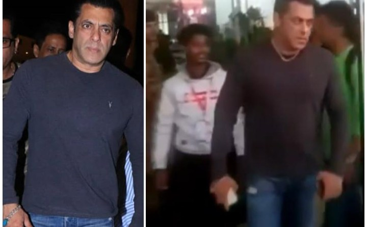 Angry Salman Khan Snatches Away A Fan's Phone For Taking Selfie Without Permission