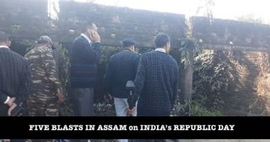 Blasts in assam on indian republic day