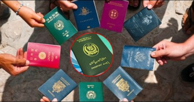 Improvements in Pakistan's position on the world's most powerful passport list