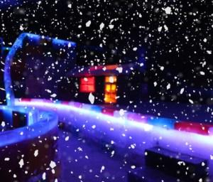 Karachi Winterland Live Snowfall
