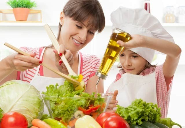 Kids can be attracted to food by watching videos of healthy foods