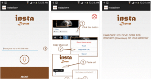 Mobile apps to download Instagram videos